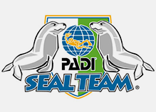 PADI Seal Team kids scuba training