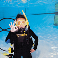 PADI Seal team scuba training in illinois